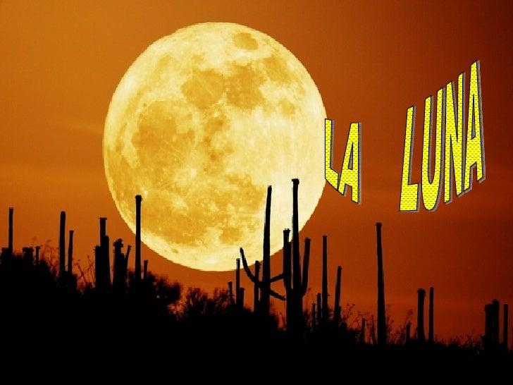 Conferencia  La Luna