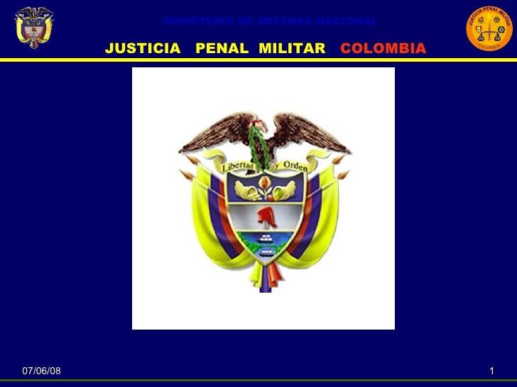 Conferencia Nuevo Codigo Penal Militar