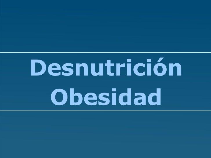Conferencia Alberto Cormillot Desnutricion