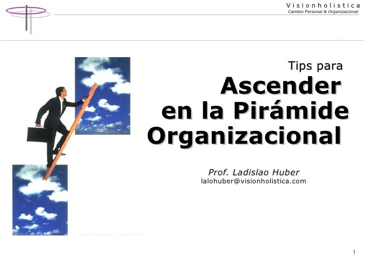 Ascender en la Pirámide Organizacional