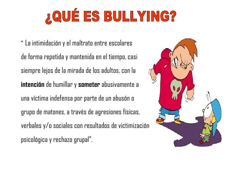 no seas indiferente terminemos con el bulling !YA!