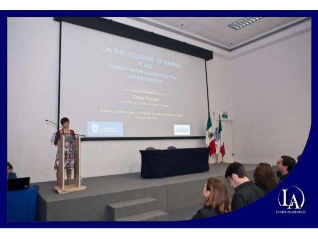 Fotografías de la Conferencia de Chiara Piazzesi