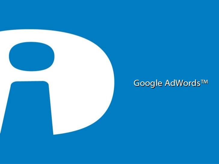 Conferencia Goolab Google AdWords