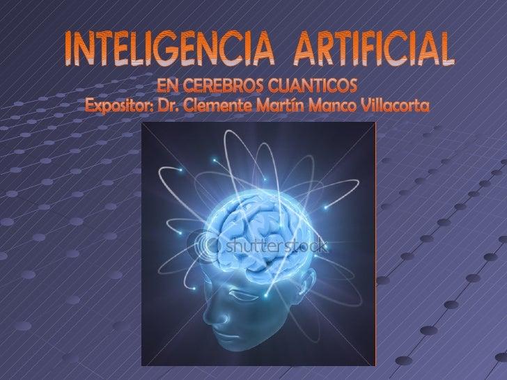 PresentaciónEscogí este tema al estar convencido que la evolución de lascomputadoras, su integración a cuerpos antropomorf...