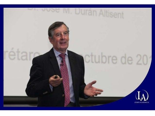 Conferencia José María Durán