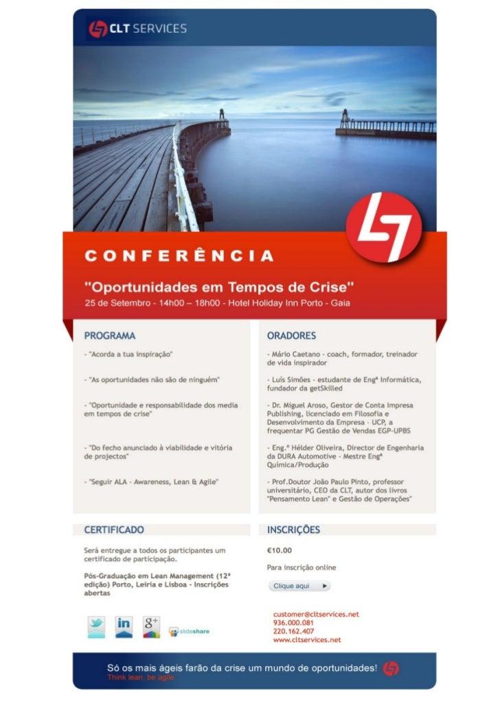 Conferencia Lean Set 2012