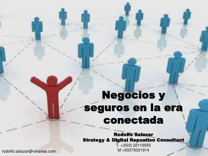 Negocios y Seguros en la era conectada