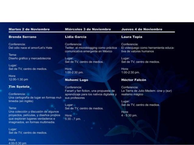 UNA CARTOGRAFÍA DEL LUGAR. FORMAS MULTIMEDIA Ciclo de conferencias Tim Szetela martes 2 de noviembre 4 a 5:30 p.m. Tim en ...