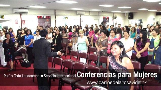 Conferencias Motivacionales en Lima