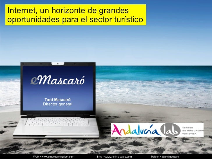 Conferencia turismo andalucia lab e mascaró