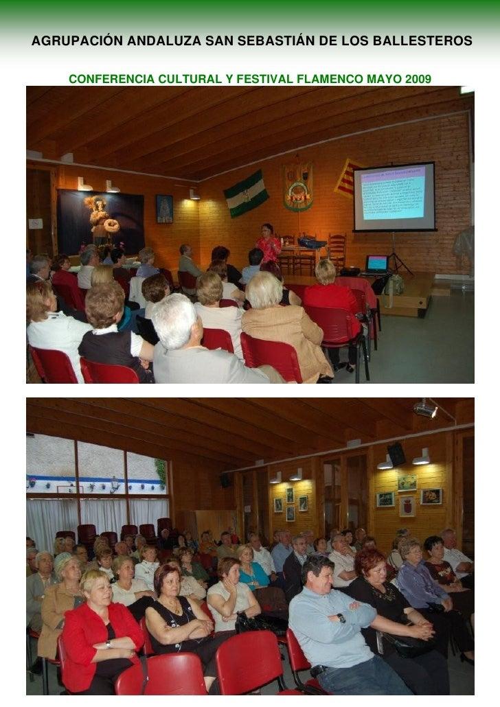 Conferencia Y Festival San Sebastián de Los Ballesteros en Cataluña