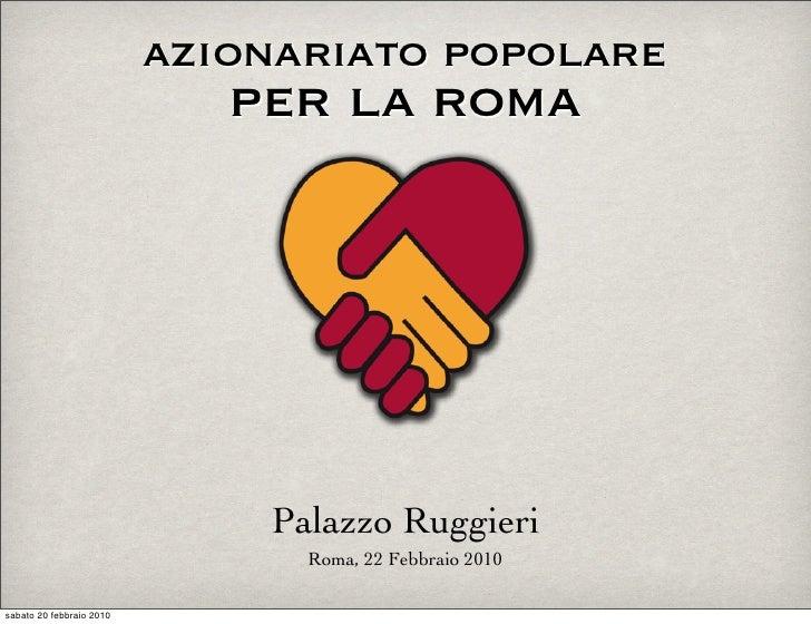Azionariato Popolare per la Roma