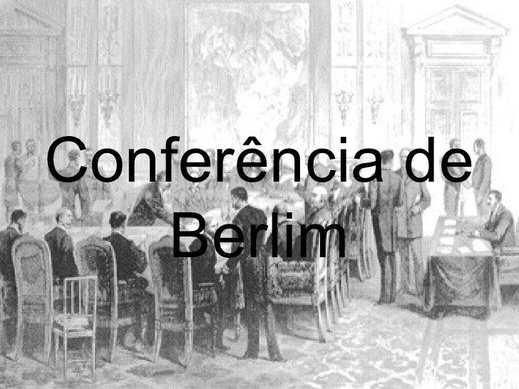 Conferência de Berlim