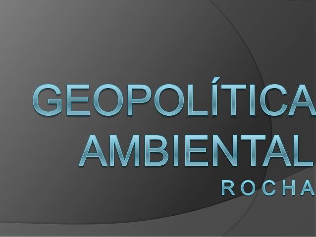 Os sérios problemas ambientais que afetavam o mundo foram a causa da convocação pela Assembléia Geral da Organização das N...
