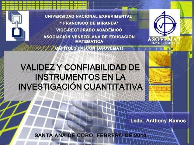 """UNIVERSIDAD NACIONAL EXPERIMENTAL"""" FRANCISCO DE MIRANDA""""VICE-RECTORADO ACADÉMICOASOCIACIÓN VENEZOLANA DE EDUCACIÓNMATEMATI..."""