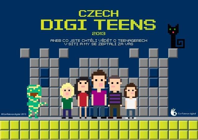 Confidence digital - czech digi teens 2013