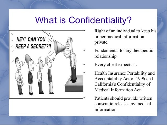 Breaches of Doctor-Patient Confidentiality