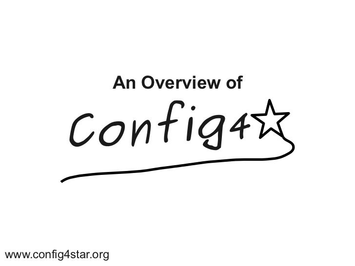 An Overview ofwww.config4star.org