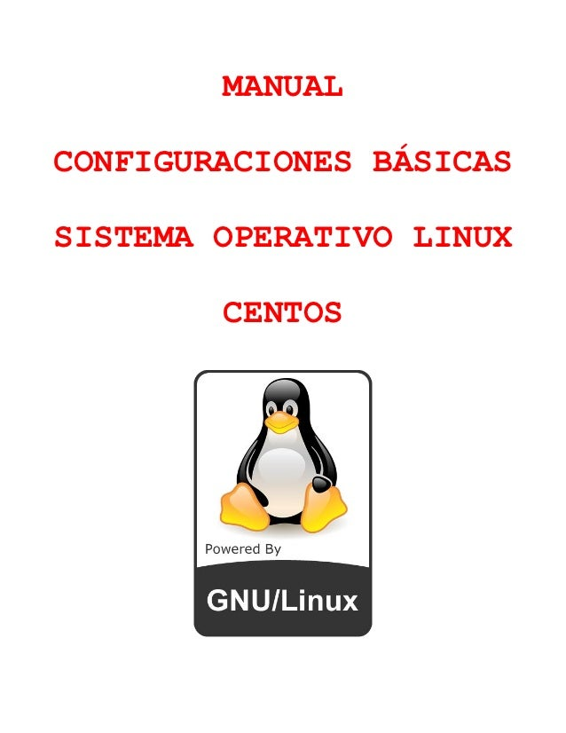 Configuracion basica de centos 6.3 linux v1