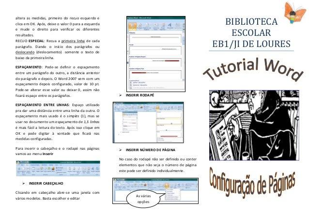 Configuração páginas word[1]