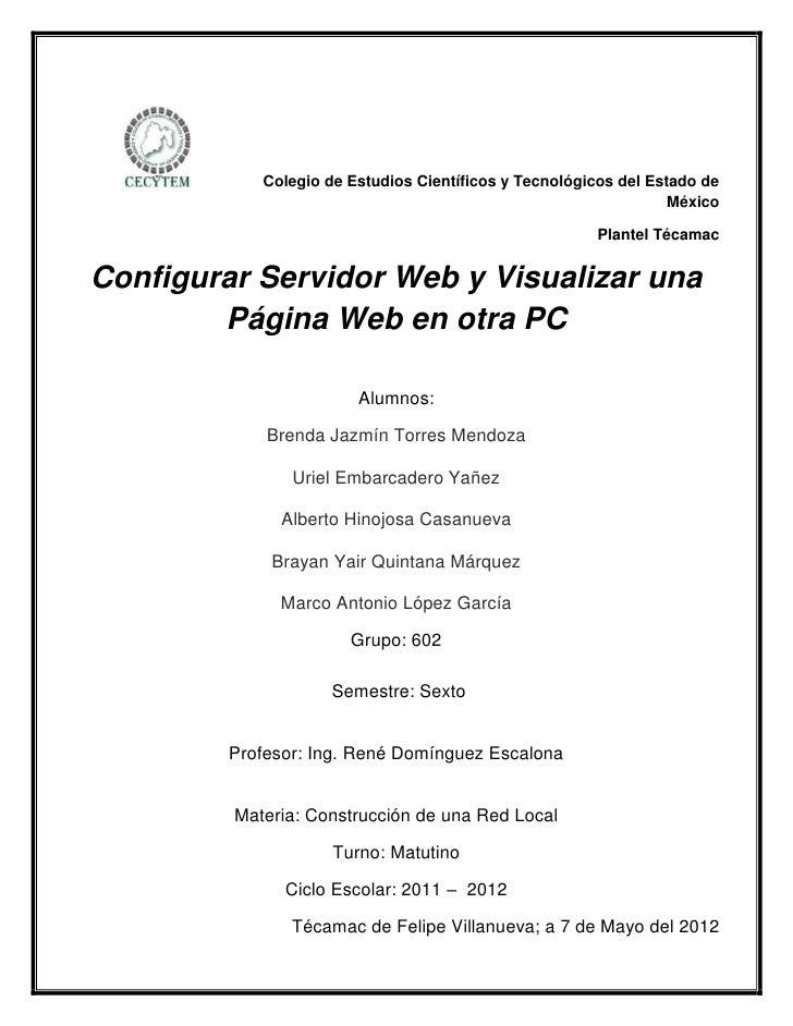 Colegio de Estudios Científicos y Tecnológicos del Estado de                                                              ...