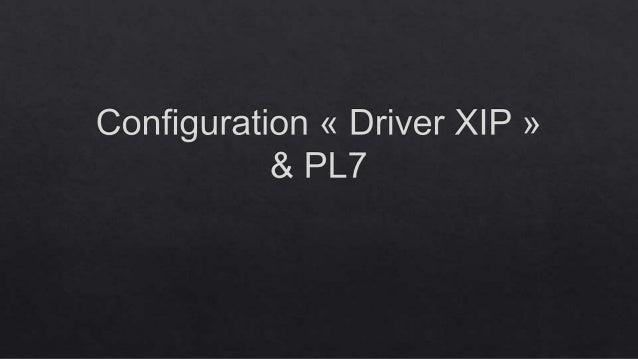 Addresse XWAY à modifier Nom de la station @IP du coupleur