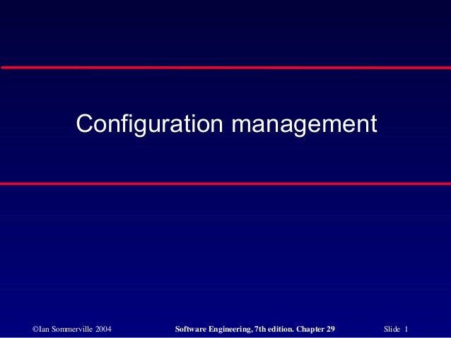 Configuration management24