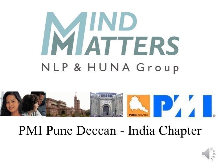 PMI Pune Deccan - India Chapter