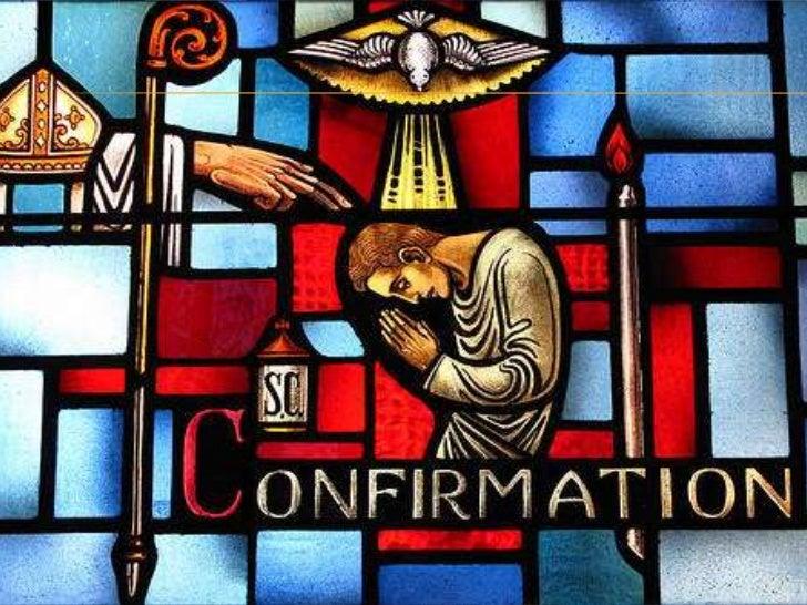 Sacraments of Initiation: Confirmation