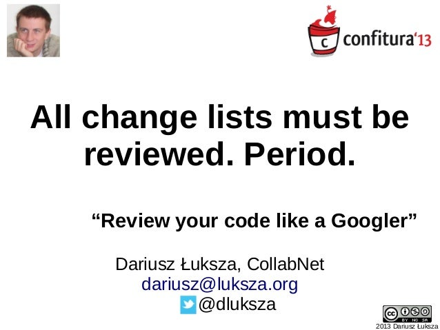 Review your code like a Googler