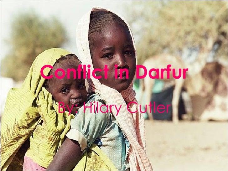 Conflict In Darfur GOOD COPY