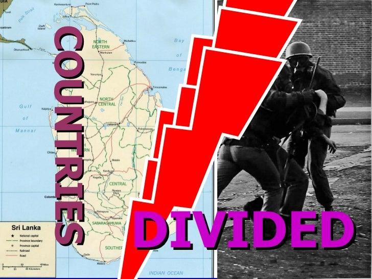 conflict in sri lanka essay