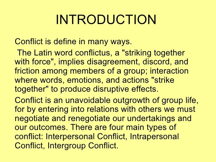 intergroup conflict in india Governing conflict and peacebuilding in india's struggles for justice are in essence intergroup conflicts a recognition that conflict prevention.