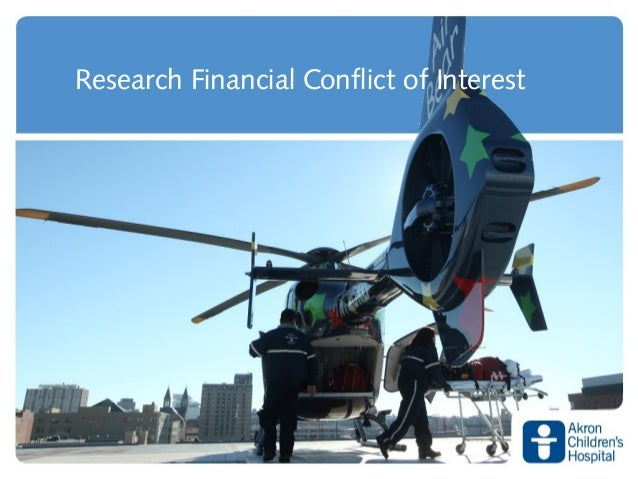 Research Financial Conflict of Interest