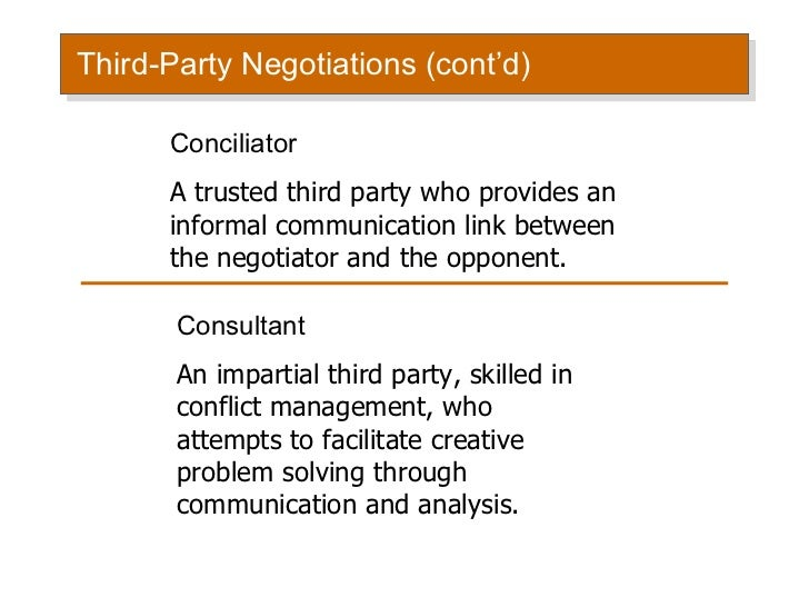 Case Study of Conflict Management and Negotiation To ...