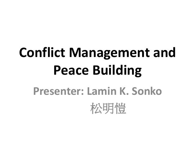 peace and conflict management The international peace and conflict resolution program offers several scholarships and grants to current students scholarships for current ipcr students need-based aid is available through au central office and generally takes the form of a federal low-interest loan package.