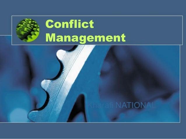 Conflict Management Kharafi NATIONAL