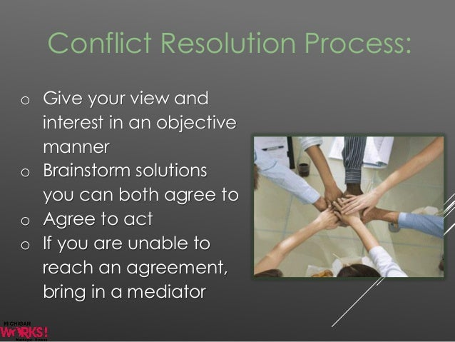 training on conflict resolution strategies in team dynamics essay
