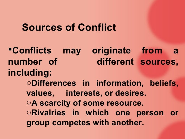 the different beliefs and view points on conflicts But these disputes are different because prove to be another area of conflict between religion the relationship between religion and views of science.