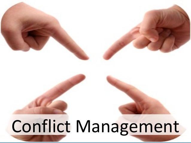 Conflict managment rvs