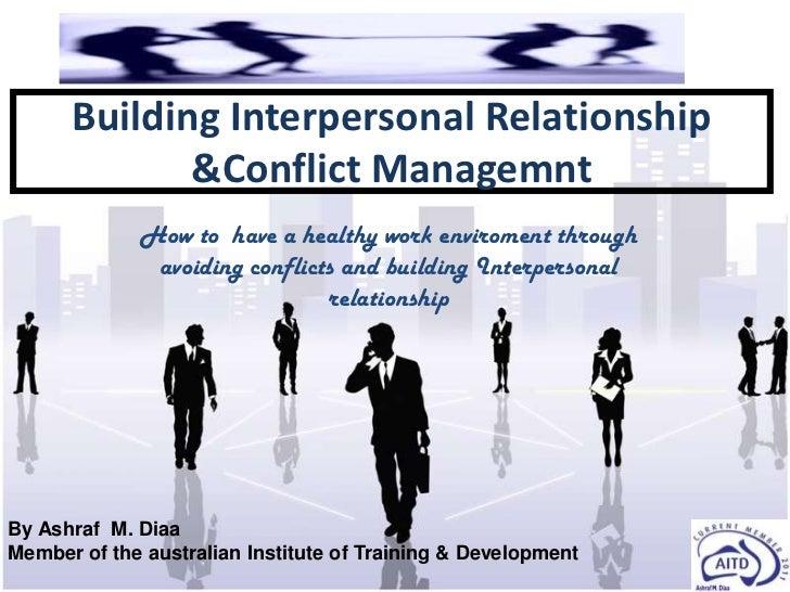 Conflict mgmt  workshop