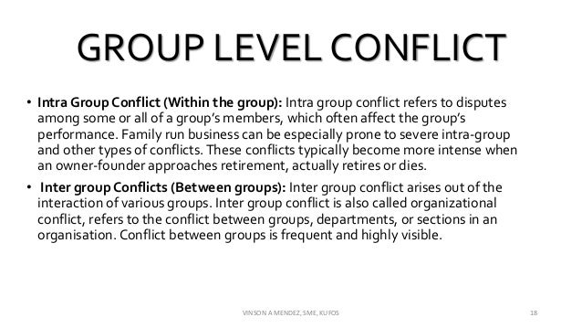 intra individual conflict Among the most striking characteristics of human cognition is its variability, which is present both between people (inter-individual variability) and within a given person (intra-individual variability.