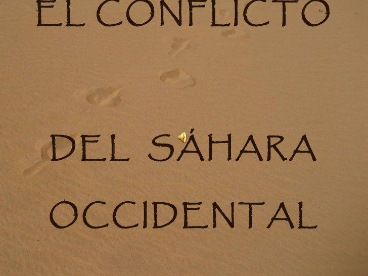 Conflicto al Sahara
