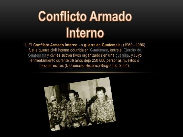 Conflicto armado - Armadio interno ...