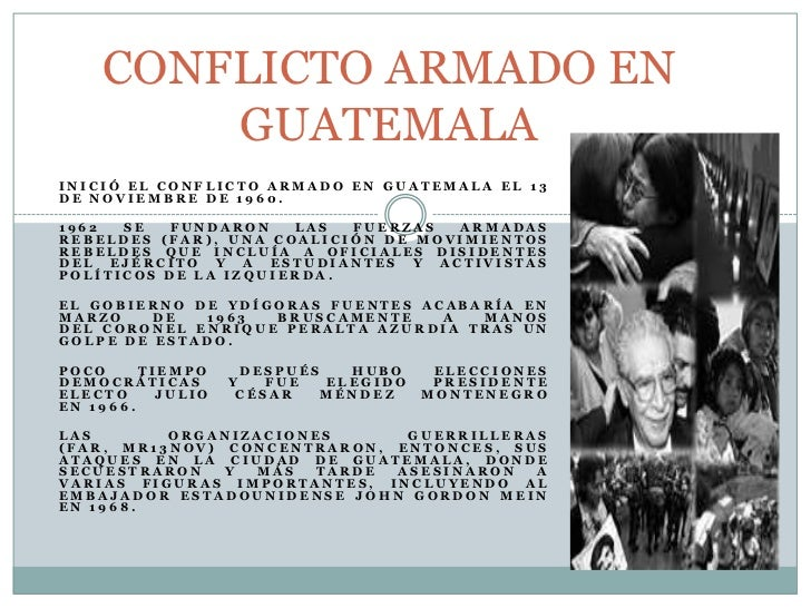Conflicto Armado Interno En Guatemala Pdf Download