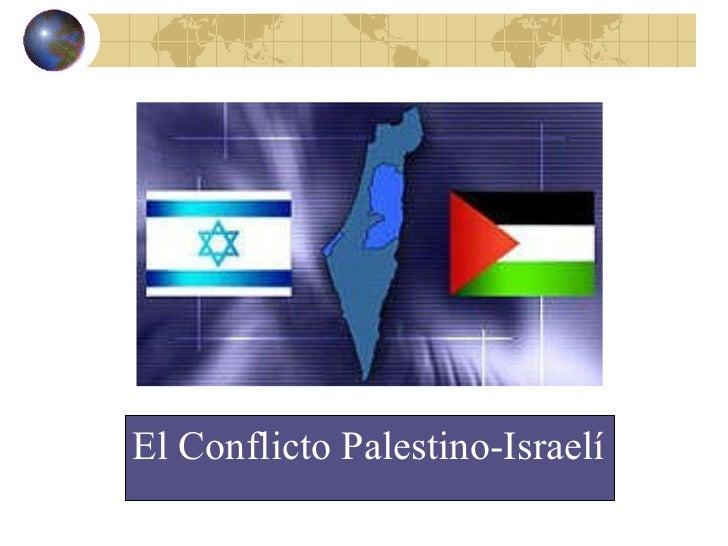 Conflicto Palestina Israel