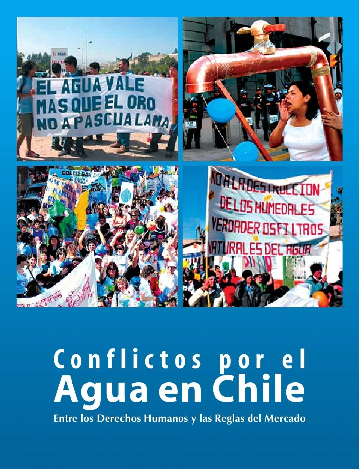 Libro; Conflictos por el Agua en Chile
