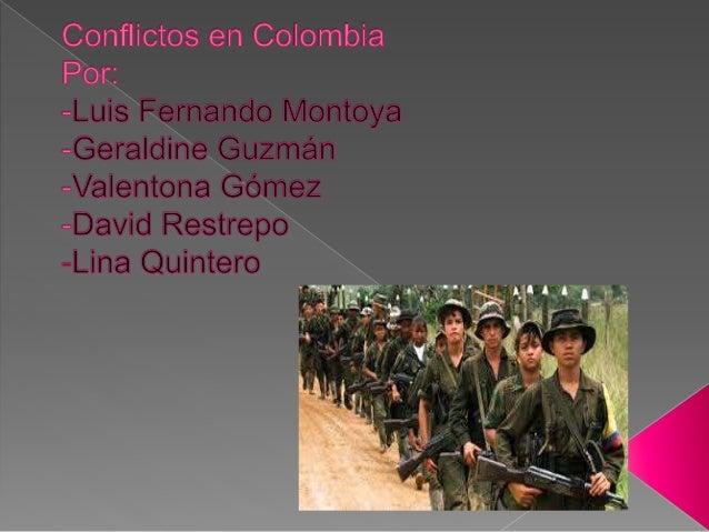 Las FARC operan en Colombia y en la zona fronteriza con  Venezuela. Son partícipes del conflicto armado colombiano desde  ...
