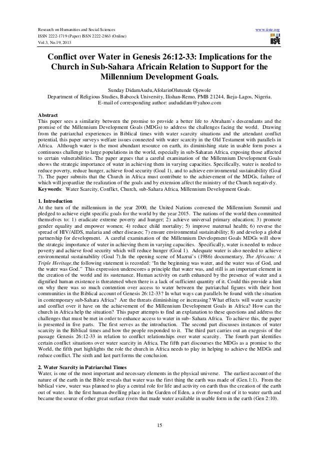 Research on Humanities and Social Sciences ISSN 2222-1719 (Paper) ISSN 2222-2863 (Online) Vol.3, No.19, 2013  www.iiste.or...