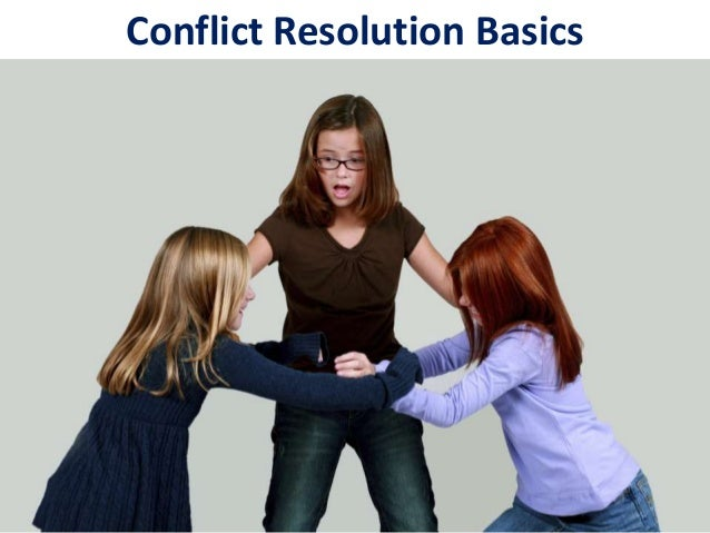 Conflict resolution basics